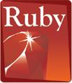 Le logo du langage de programmation Ruby