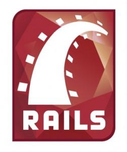 Logo du framework web Ruby on Rails
