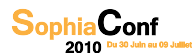 logo SophiaConf 2010