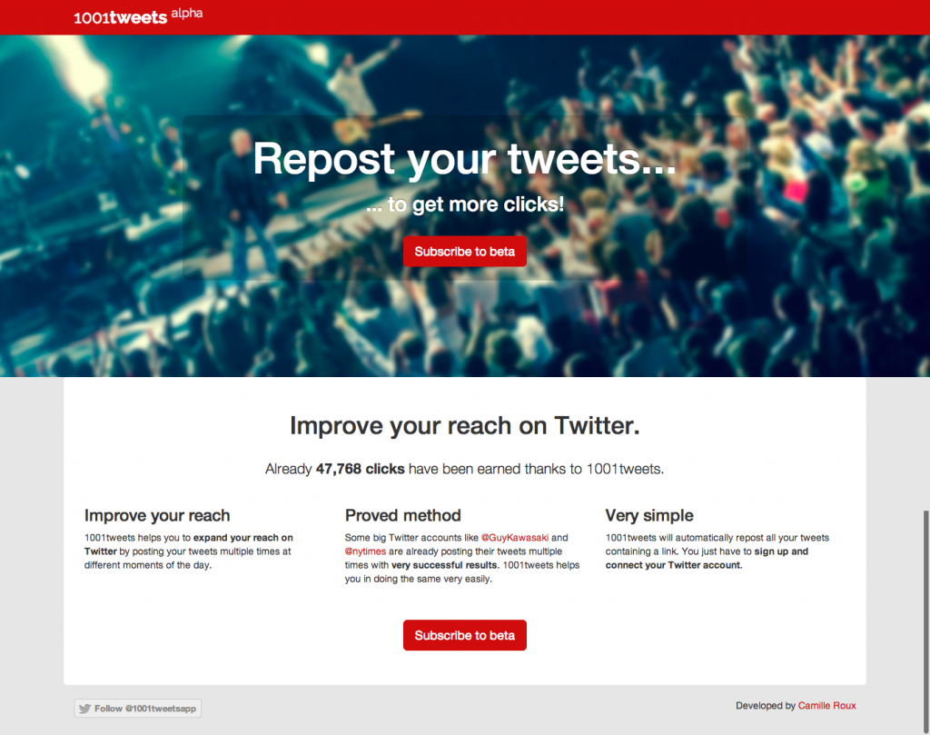 Repost your tweets to get more clicks